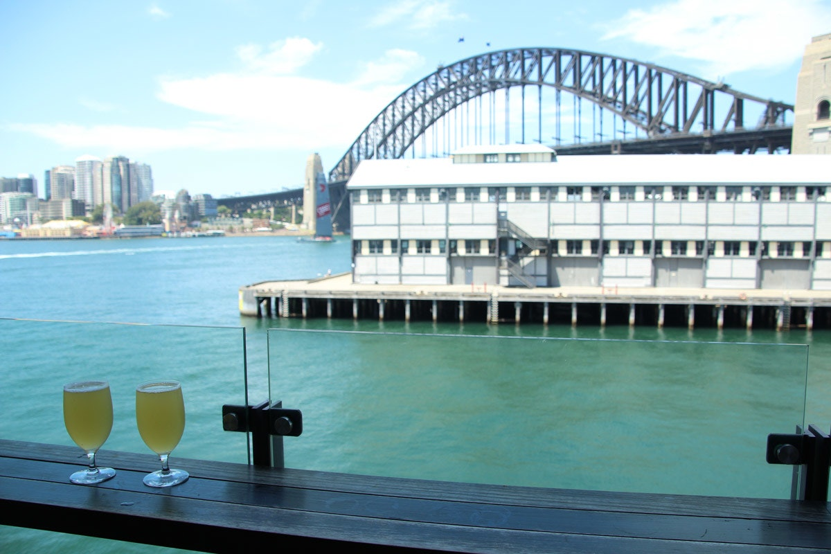 Bar at the End of the Wharf