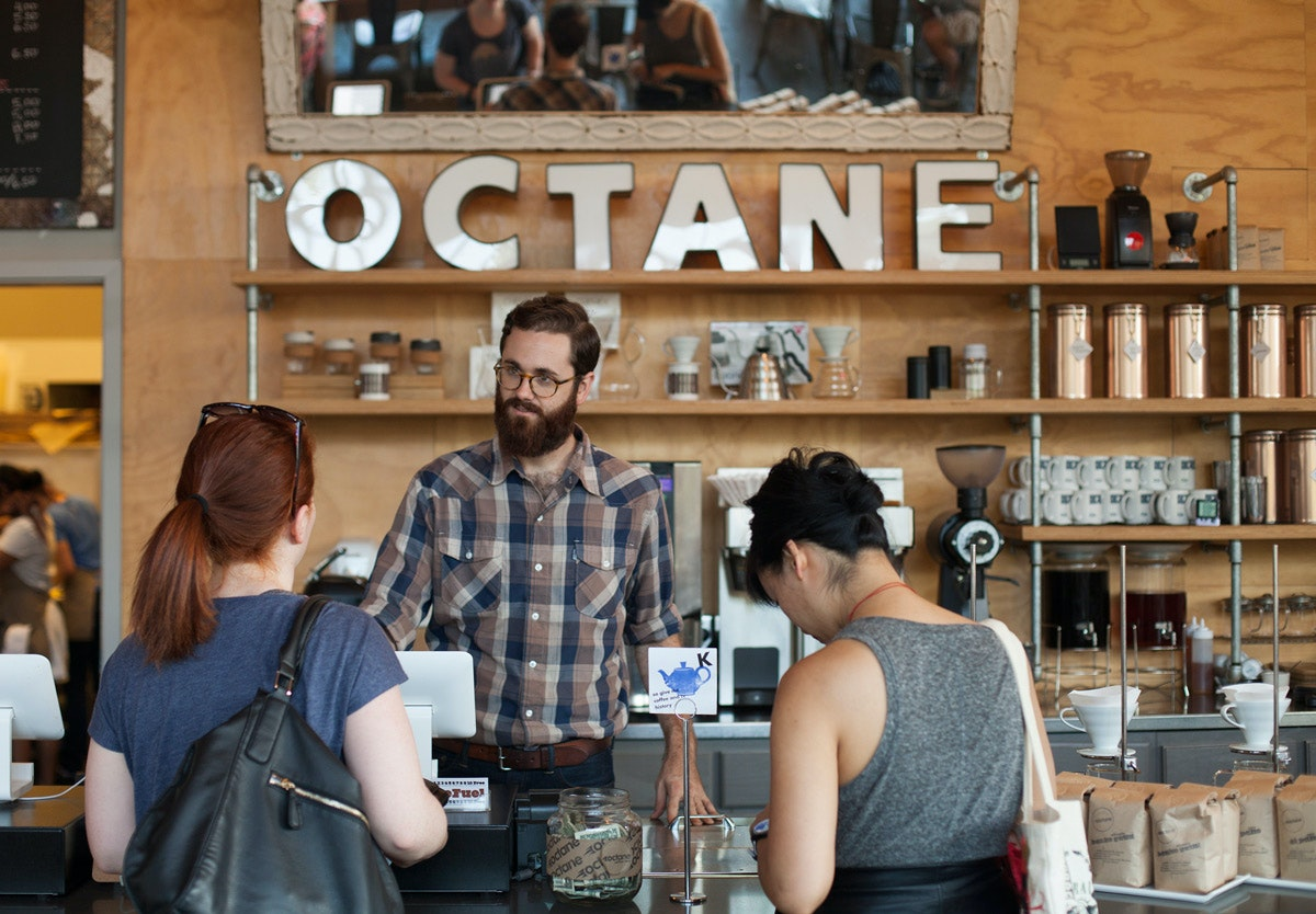 Octane Coffee and The Little Tart Bakeshop