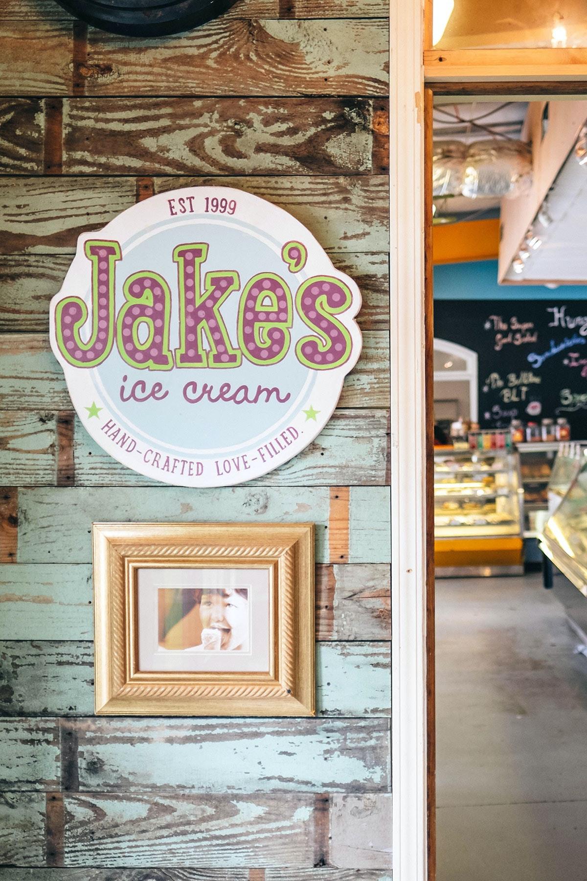 Jake's Ice Cream