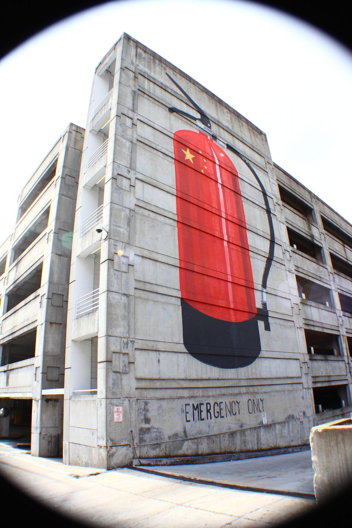 Escif Mural
