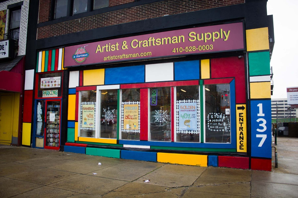 Artists Craftmans Supply Baltimore