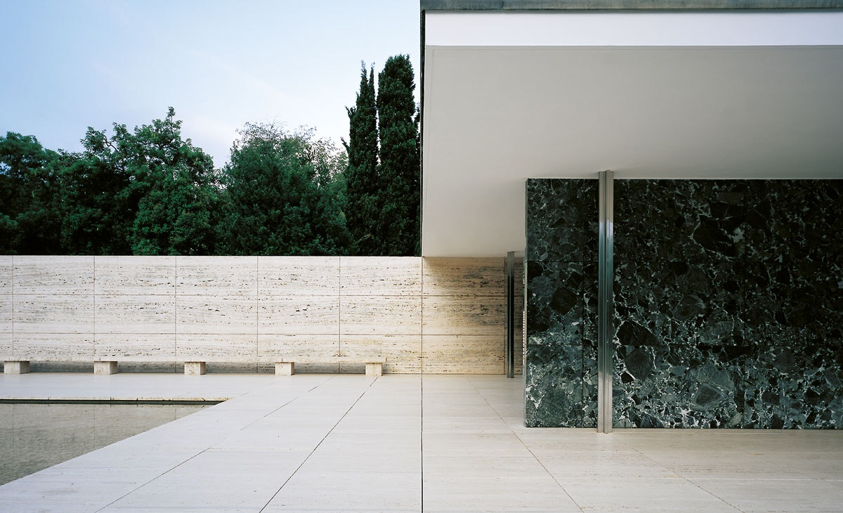 On The Grid Mies Van Der Rohes Barcelona Pavilion