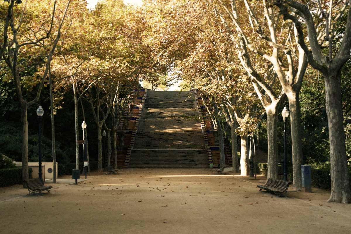 Running at Montjuïc