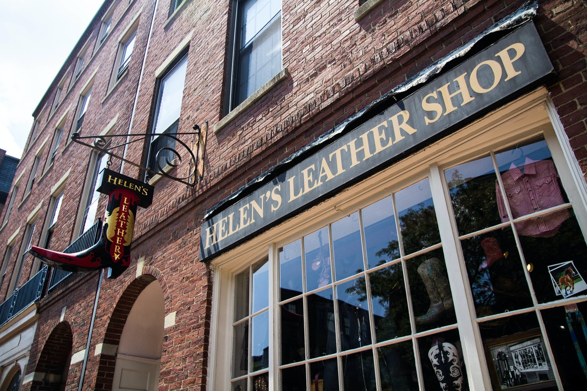 Helen's Leather Shop