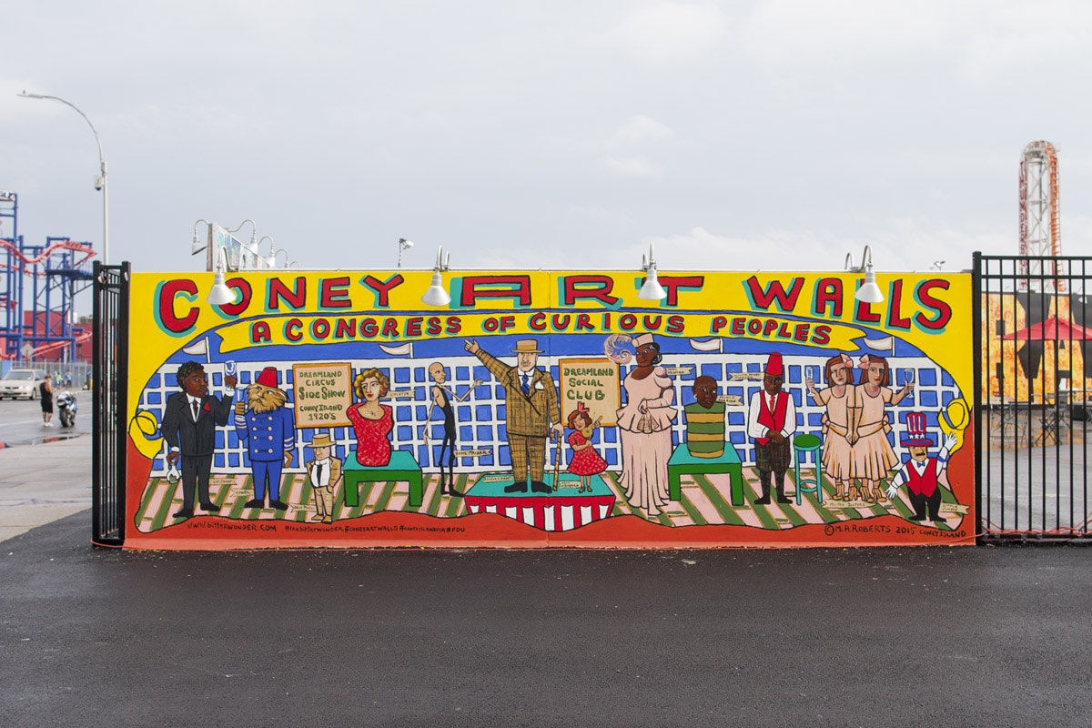 Coney Art Walls + Smorgasburg
