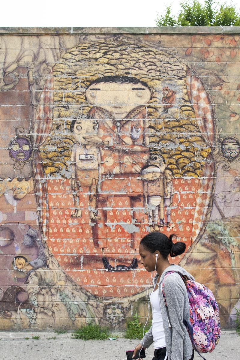 Os Gemeos' Mural