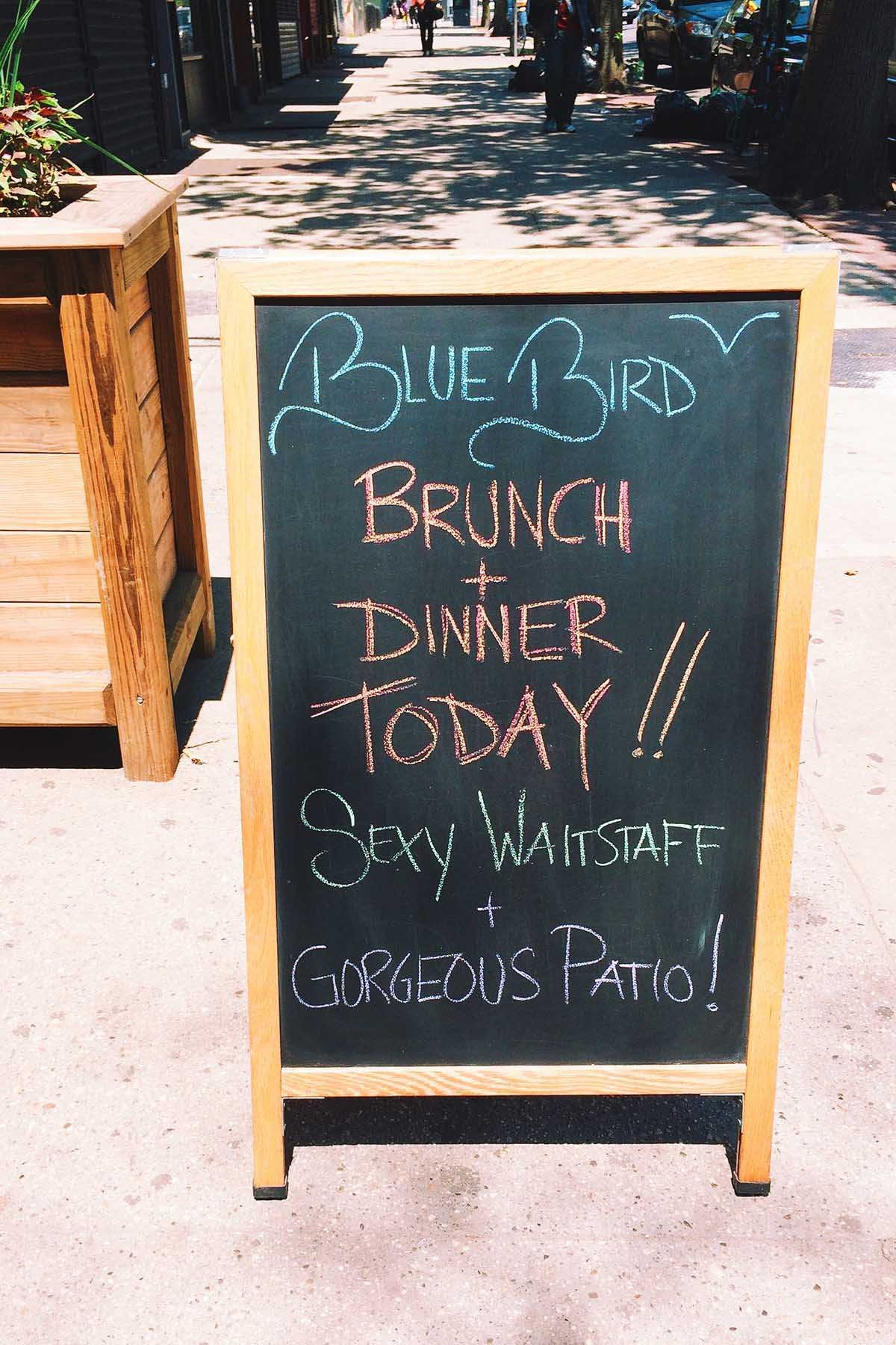 Bluebird Food & Spirits