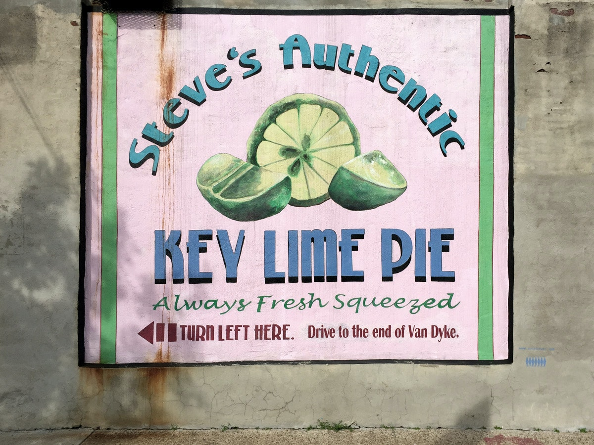 Steve's Authentic Key Lime Pie