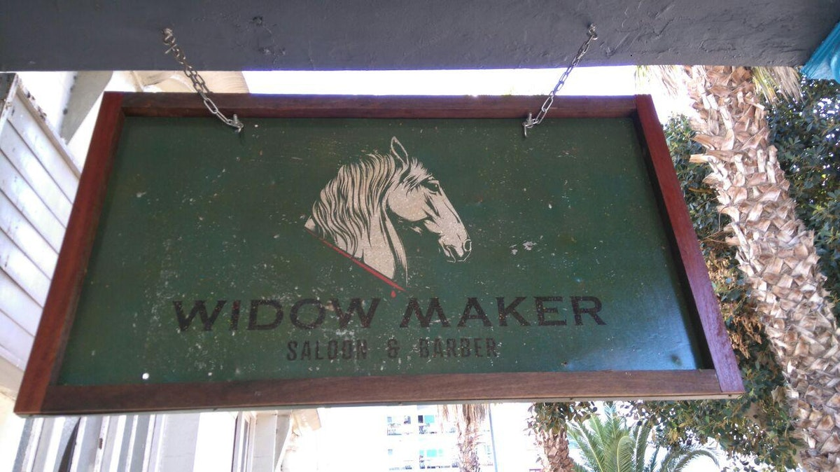 The Widow Maker Saloon and Barber