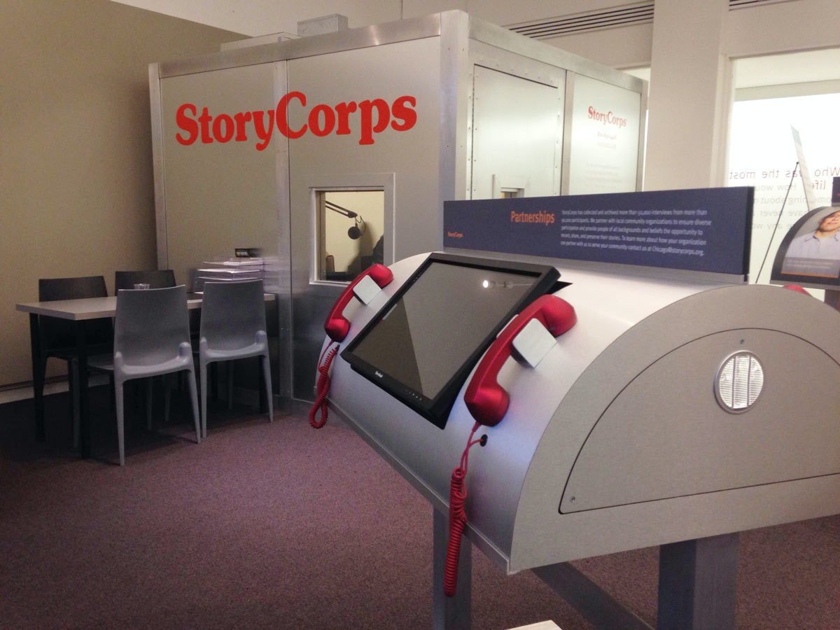 StoryCorps Story Booth