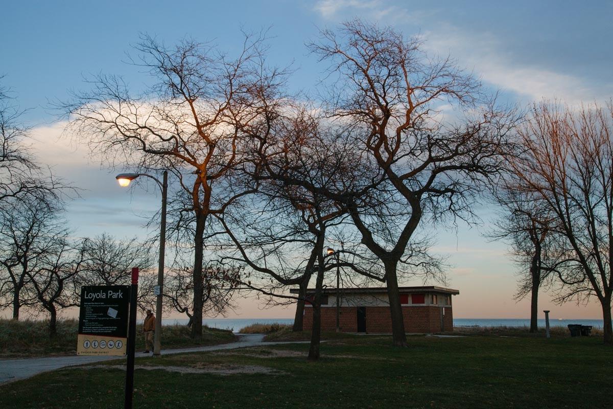 Hartigan Beach Park (aka Loyola Beach)