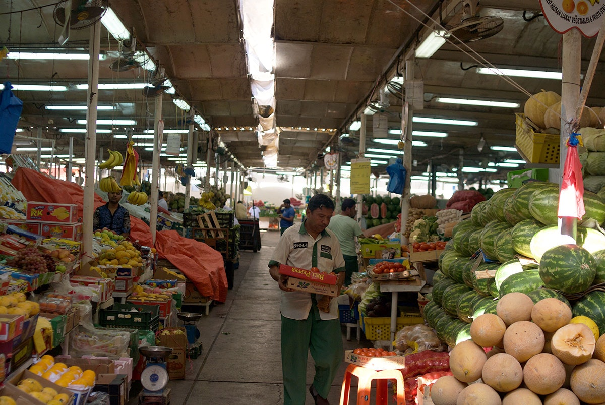 Fish and Vegetable Market