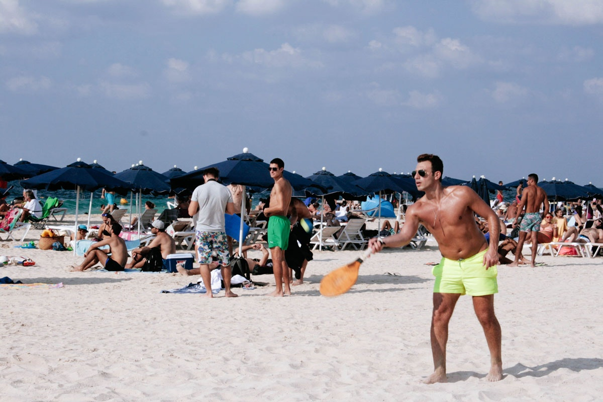 Kite Surfer's Beach
