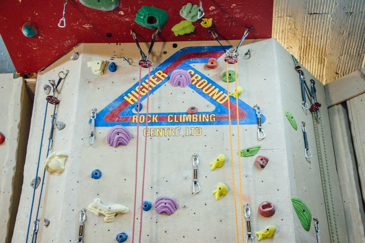 Higher Grounds Rock Climbing Centre