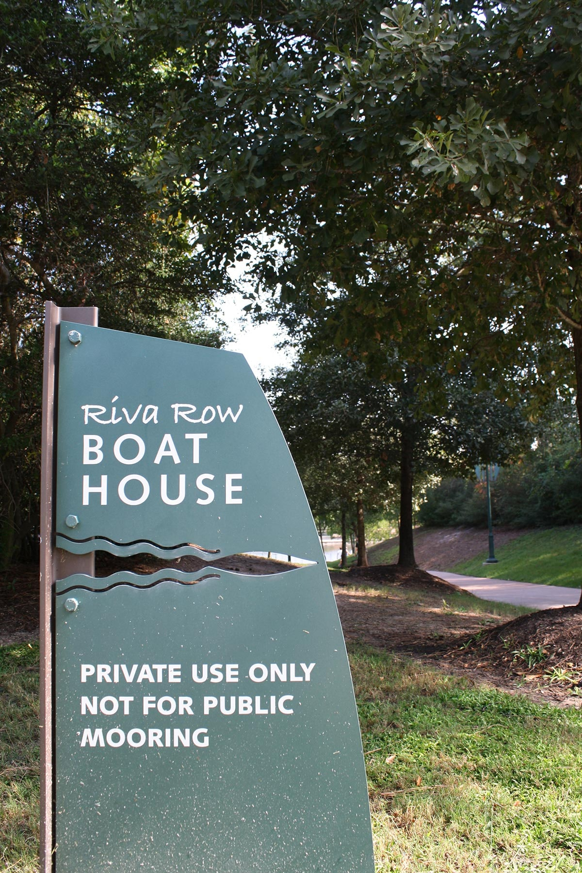 Riva Row Boat House and Riva Row Park