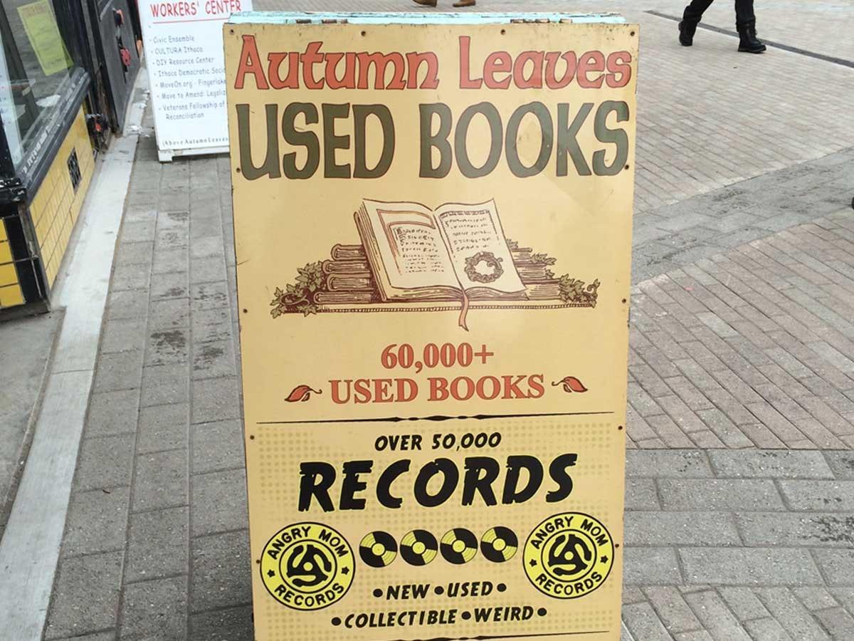 Autumn Leaves Used Books