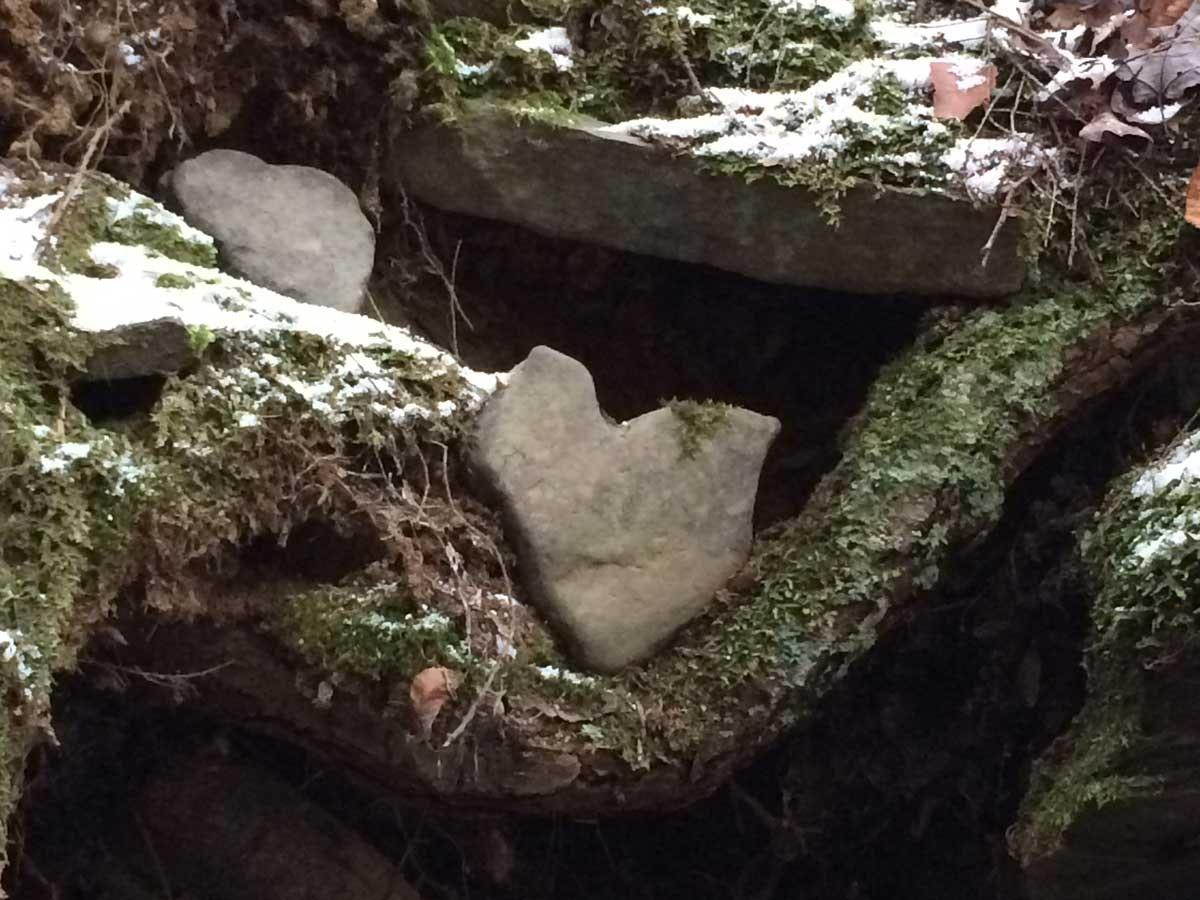 Heart Stone Wall
