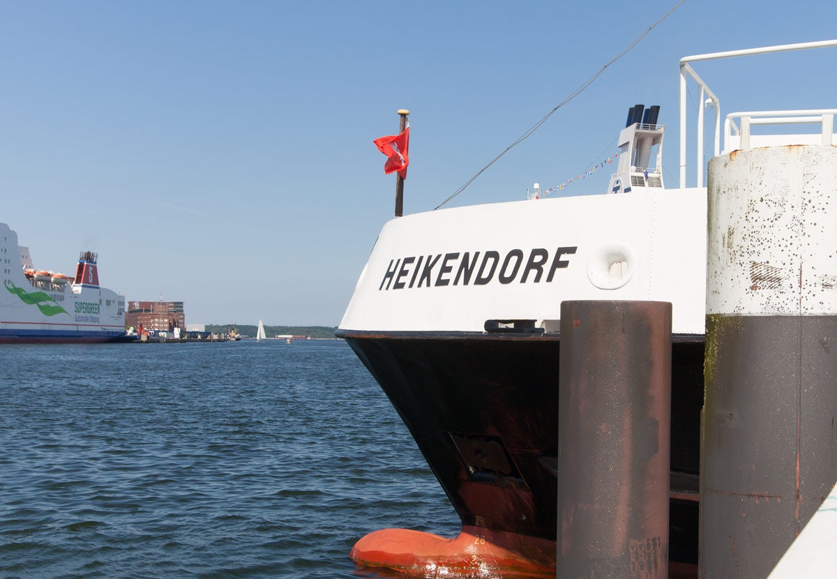 Ferry to Laboe