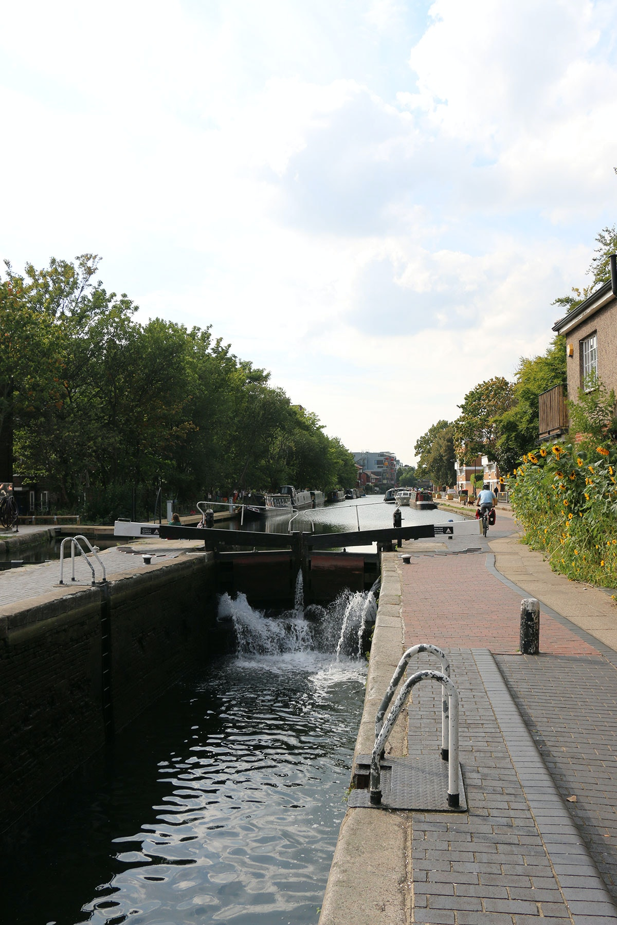 The Lock, Canal & Gasworks