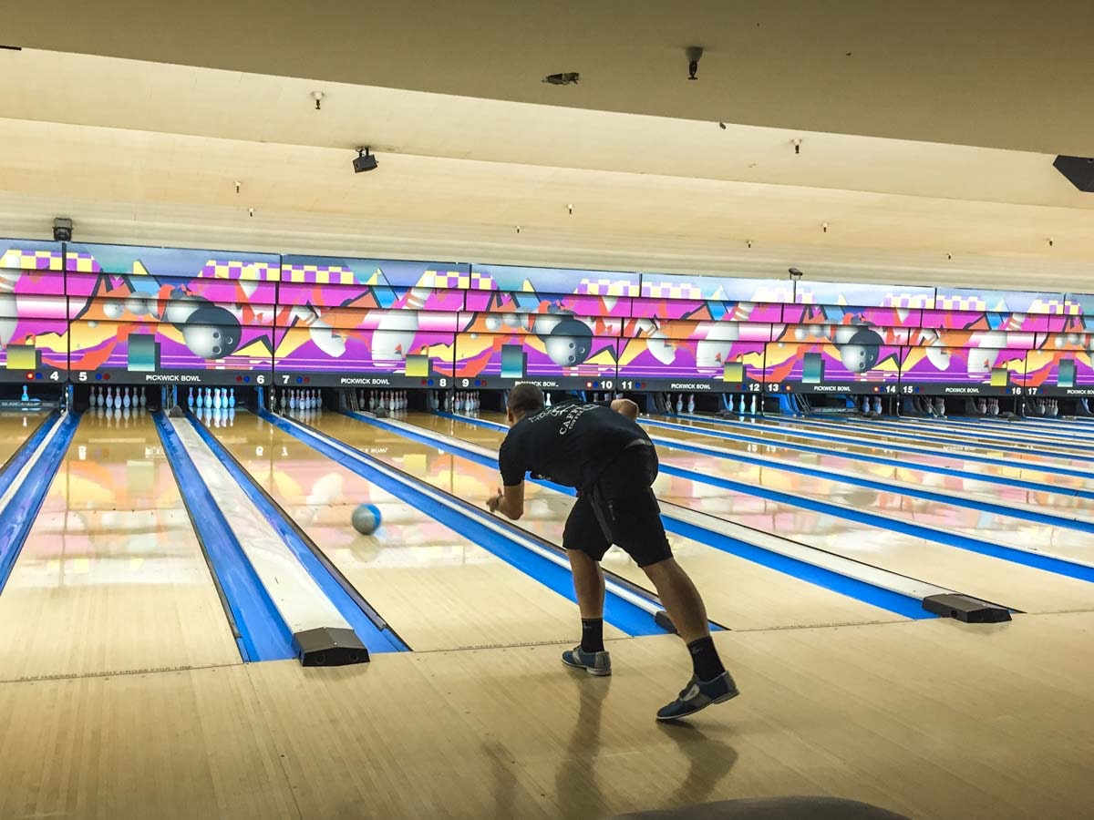 Alana Curry at the Bowling For Barks, Pickwick Bowling ...