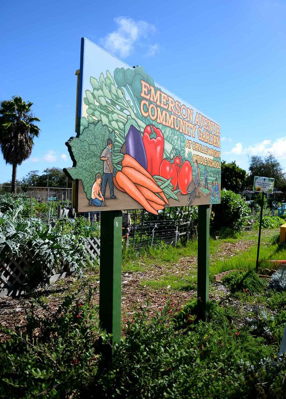 Emerson Avenue Community Garden