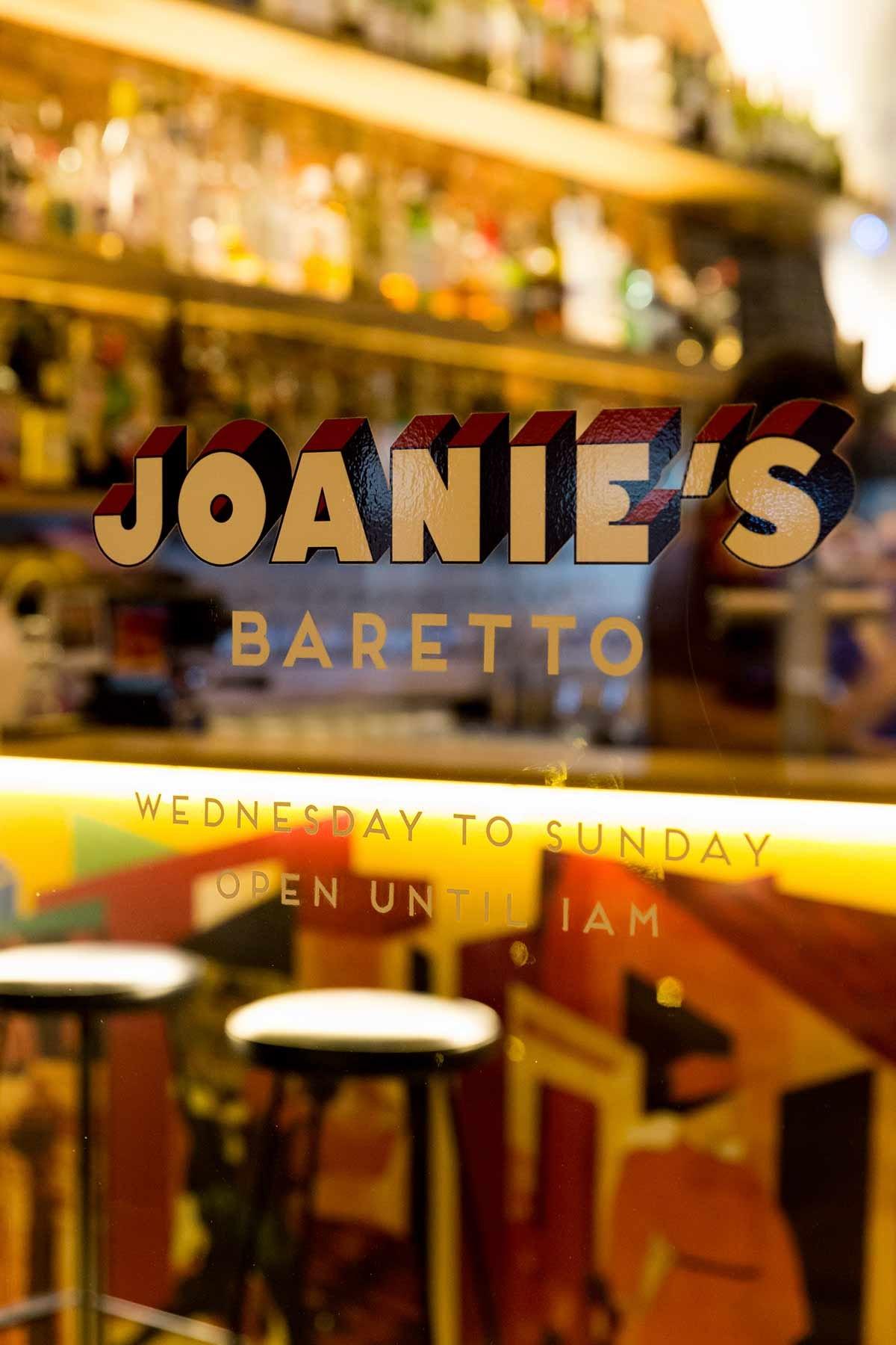 Joanie's Baretto