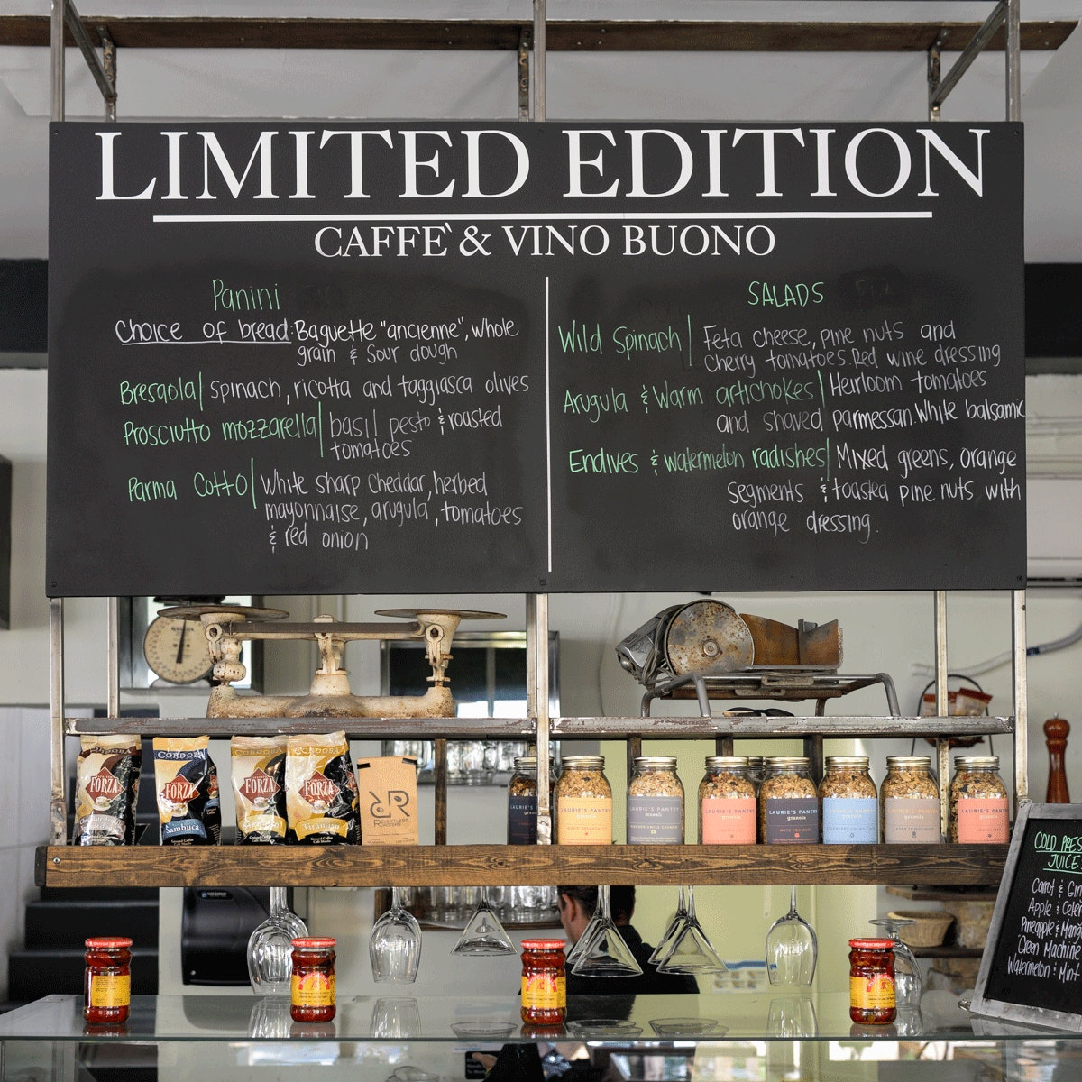 Limited Edition Caffé & Vino Buono