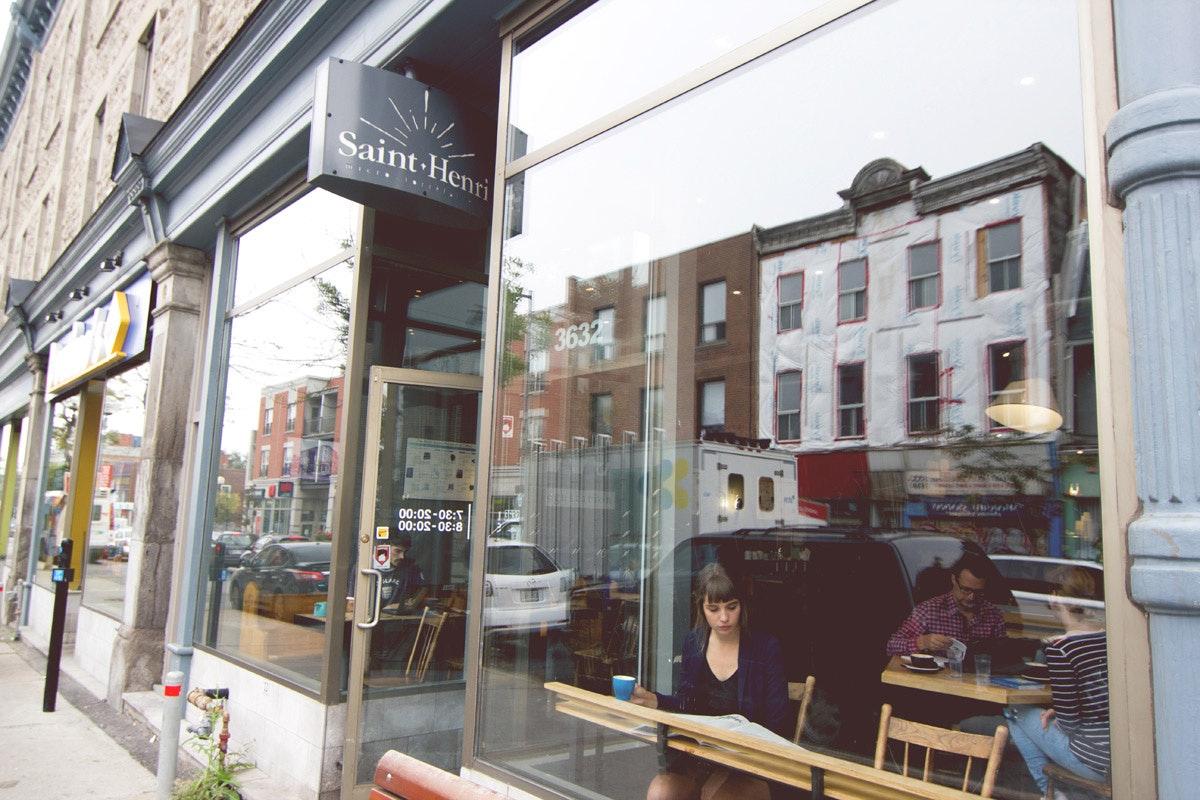 Saint-Henri café
