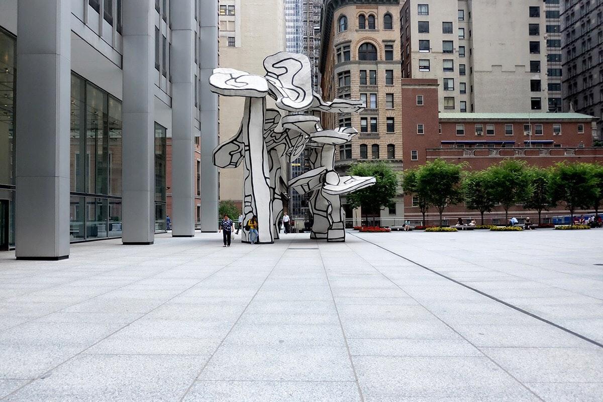 Art Walk: Isamu Noguchi, Jean Dubuffets, Keith Haring