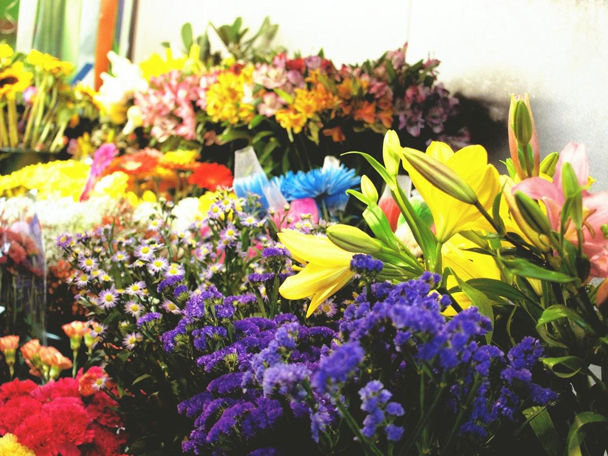 On The Grid Florist Paradise