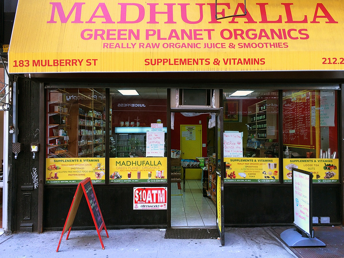 Madhufalla Organic Juice & Smoothie Bar