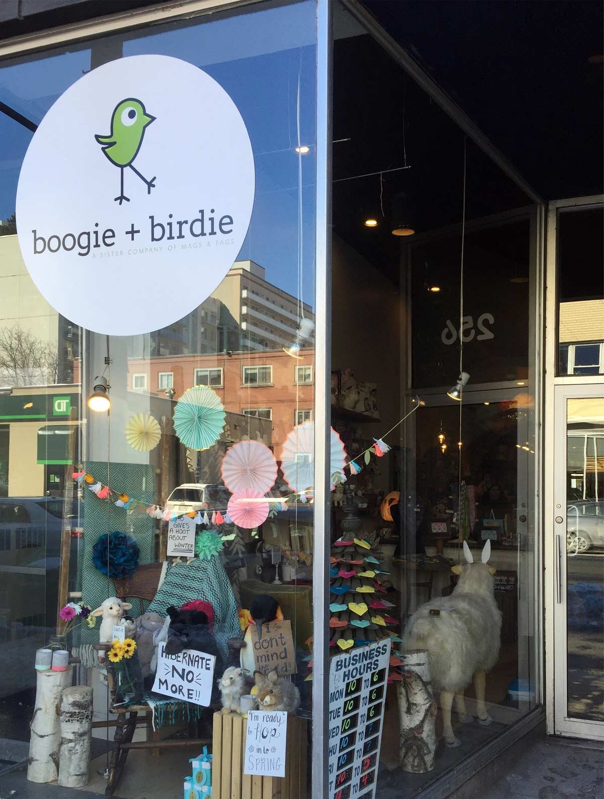 boogie + birdie