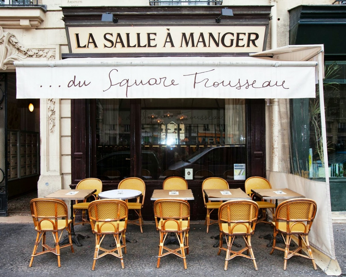 On The Grid La Salle A Manger Du Square Trousseau