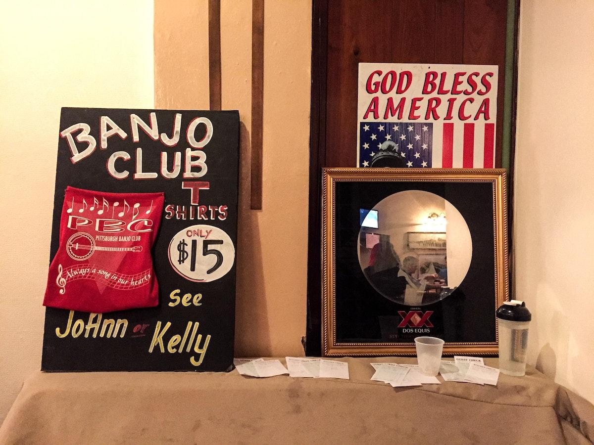 Banjo Night at the Elk's Lodge