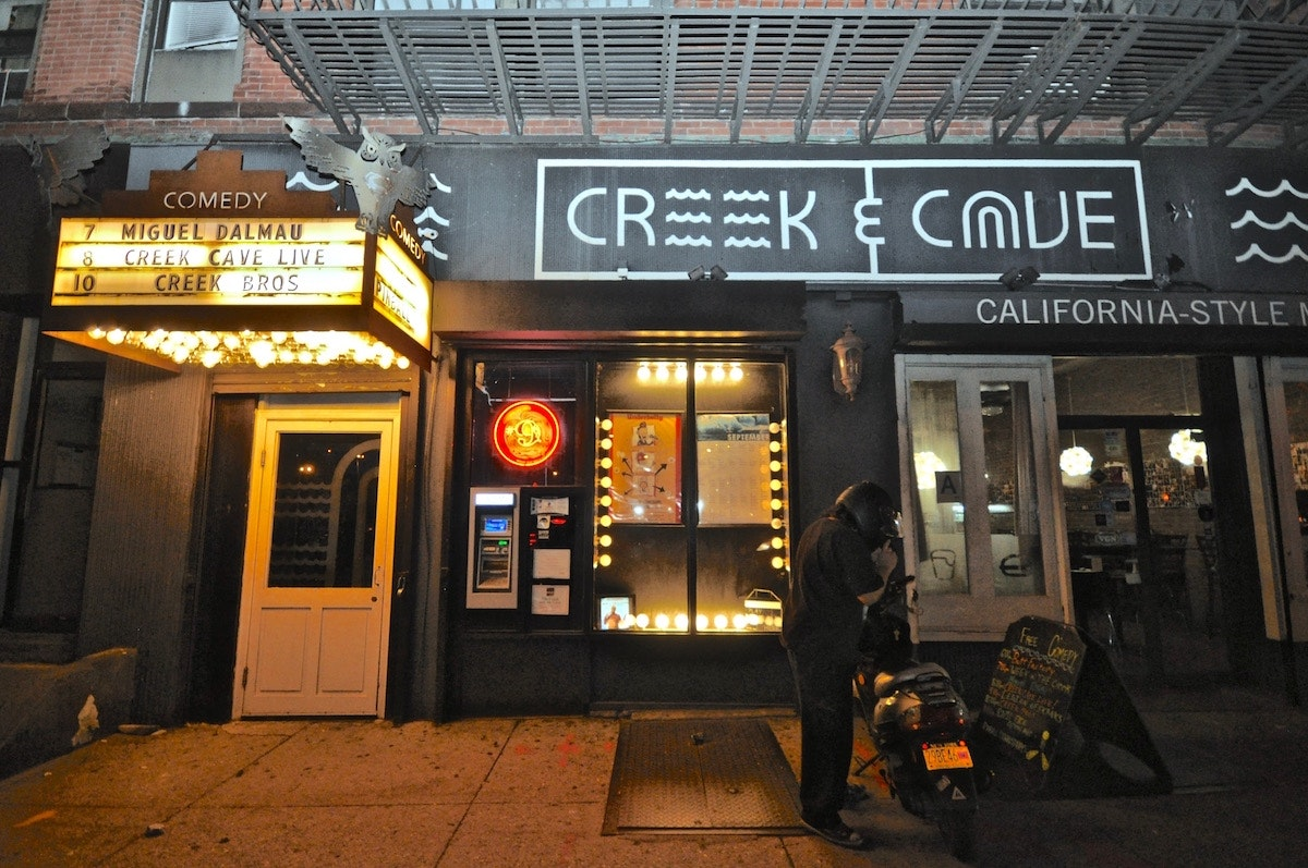 The Creek & The Cave