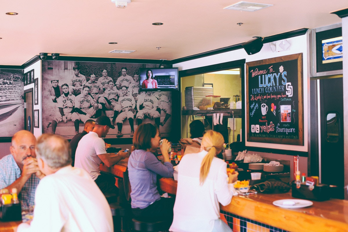 Lucky's Lunch Counter