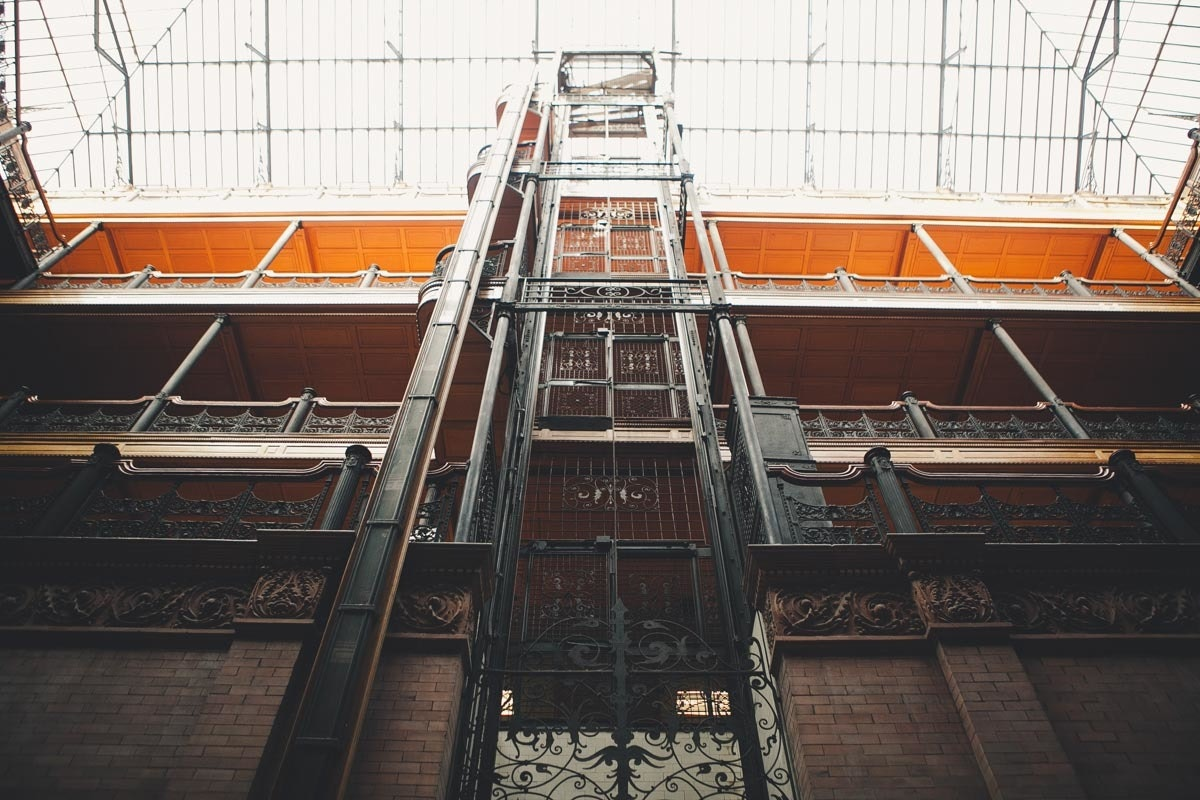 On the Grid : Bradbury Building