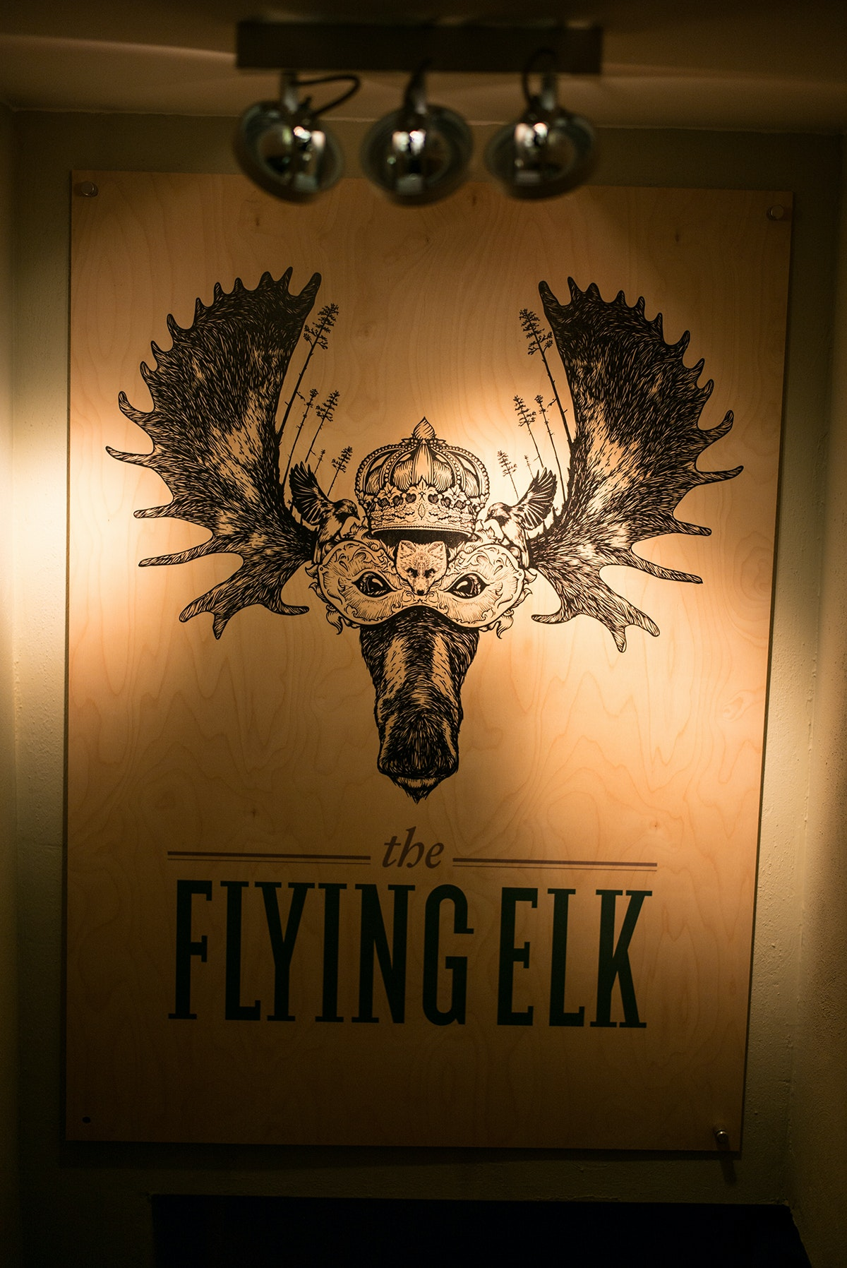 The Flying Elk