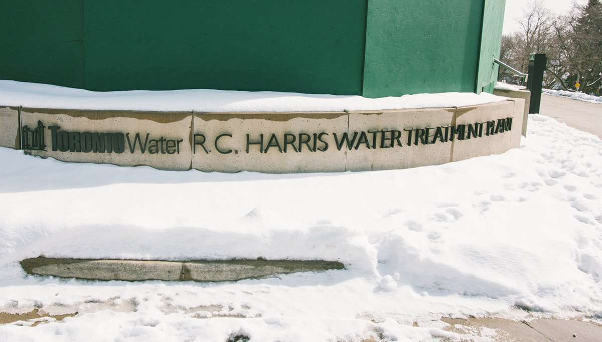 RC Harris Water Treatment Plant