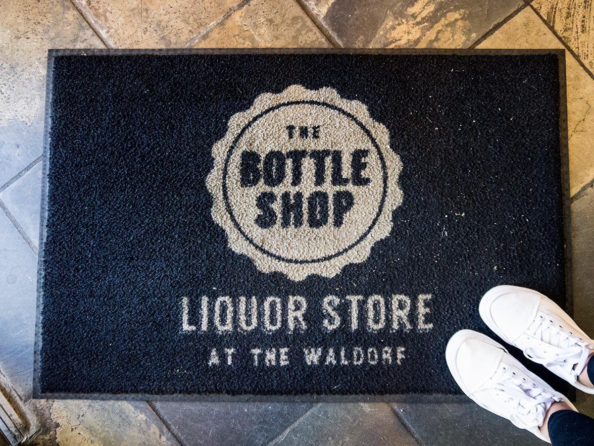 The Bottle Shop Liquor Store at the Waldorf