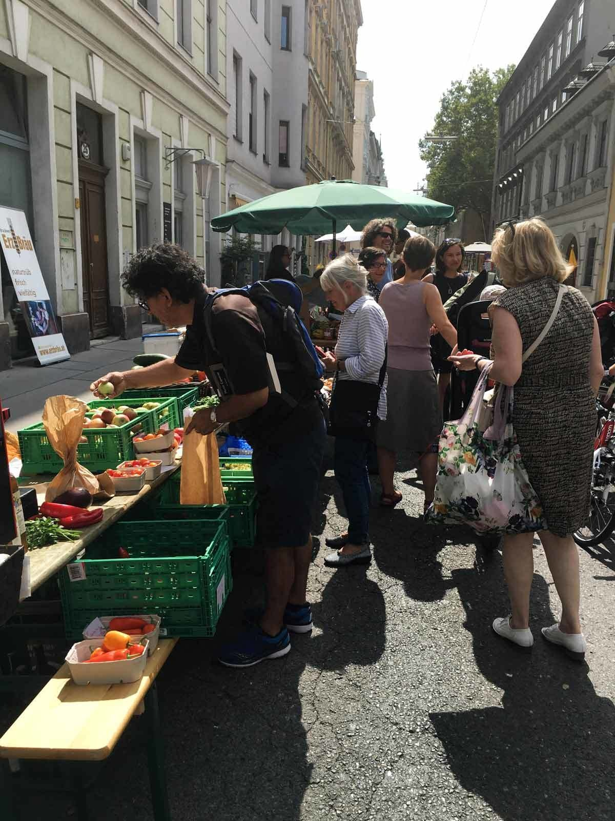Saturday Market at Lange Gasse