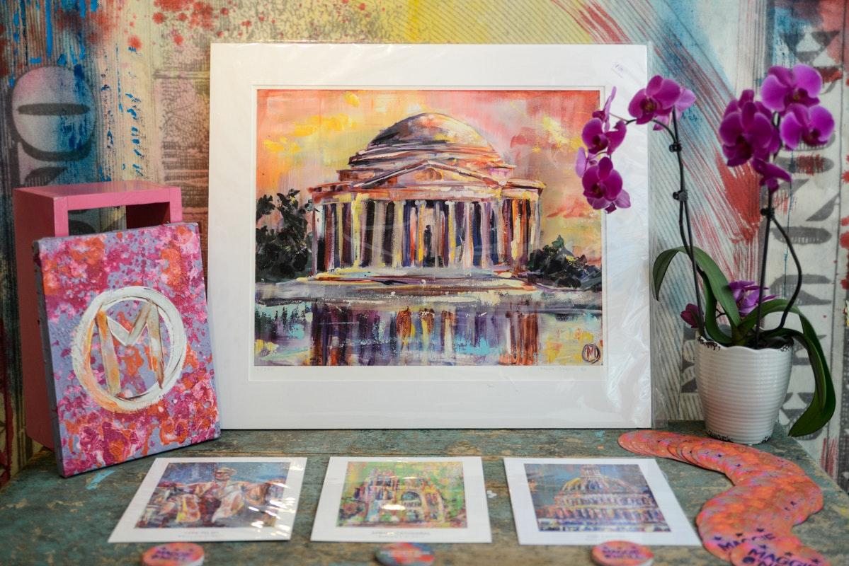Swatchroom & Maggie O'Neill Fine Art